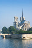 Notre-Dame de Paris in the morning Stock Photos