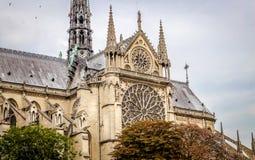 Notre-Dame de Paris Royalty Free Stock Photography