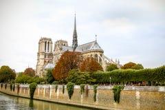 Notre-Dame de Paris. Cathedral in Paris, France Stock Images