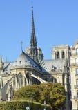 Notre-Dame de Paris Onze Dame van de Katholieke kathedraal van Parijs Famouse in Parijs Royalty-vrije Stock Foto's