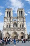 Notre Dame de Paris, París, Francia fotografía de archivo libre de regalías