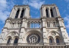 Notre Dame de Paris, Paris, France Images libres de droits
