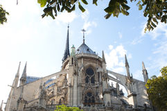 Notre Dame de Paris, Paris, France Royalty Free Stock Photo
