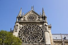 Notre-Dame-de-Paris (Paris France) Stock Images