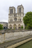 Notre Dame de Paris, in Paris France Royalty Free Stock Photography