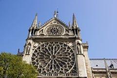 Notre-Dame-de-Paris (Paris Frankrike) Arkivbilder