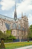 Notre Dame de Paris in spring time Stock Image