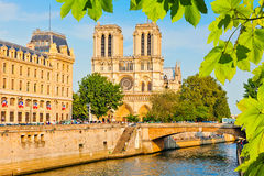 Notre Dame de Paris Royalty Free Stock Photography