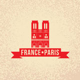 Notre Dame de Paris - the symbol of France Stock Photo