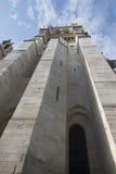 Notre Dame de Paris towers Stock Photography