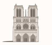 Notre-Dame de Paris Stock Image