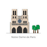 Notre-Dame de Paris Stock Photography