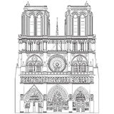 Notre Dame de Paris Stock Photos