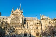Notre Dame De Paris w Francja Fotografia Stock