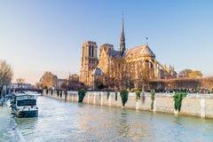 Notre Dame De Paris w Francja Zdjęcia Stock