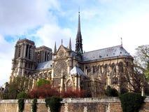 Notre Dame de Pariskathedrale Stockfotografie