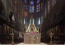 Notre Dame de Pariskathedrale Lizenzfreies Stockfoto