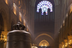 Notre Dame de Pariskathedrale Stockfotos