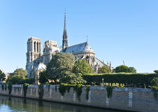 Notre-Dame De Paryż Obrazy Royalty Free