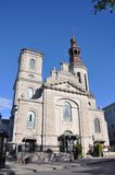 Notre-Dame de Quebec Cathedral, Quebec City, Canada Royalty Free Stock Image