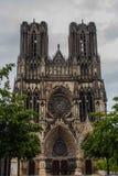 Notre-Dame de Reims Fotografie Stock