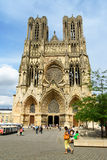 Notre-Dame de Reims Cathedral, France. Royalty Free Stock Photos