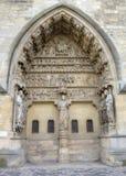 Notre-Dame de Reims domkyrka enkla modeller för illustrationer för garneringdesignelement france reims Royaltyfri Foto