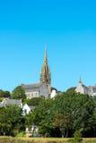 Notre Dame de Roscudon church, Point-Croix (France) Stock Photo