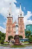 Notre Dame de Saigon Image stock