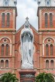 Notre Dame de Saigon Photo stock