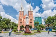 Notre Dame de Saigon Photographie stock libre de droits