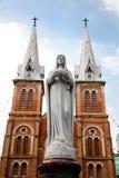 Notre Dame De Saigon cathedral Stock Photos