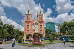 Notre Dame de Saigon, Vietnam royalty free stock photo