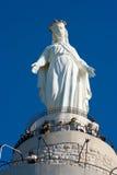 Notre dame de statue du Liban Image libre de droits