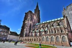 Notre Dame de Strasbourg Photographie stock libre de droits