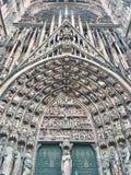 Notre-Dame de Strasbourg Fotografia de Stock