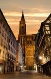 Notre Dame de Strasbourg Stock Images