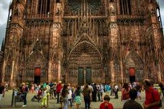 Notre-Dame De Strasburg HDR zdjęcia stock