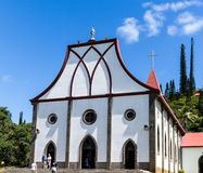 Notre Dame del l'Assomption church, Île des Pins. Notre Dame del l'Assomption church, Île des Pins, Isle of Pines, Kunie Island, New Caledonia Stock Images