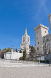 Notre Dame des Doms church at Avignon, France Stock Photography