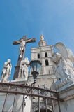 Notre Dame des Doms church at Avignon, France Stock Photo