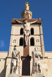 Notre Dame des Doms church located at Avignon, France Royalty Free Stock Photography