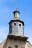 Notre Dame des-förbud i franska Treignac Fotografering för Bildbyråer