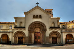 Notre Dame Des Pins HDR Foto de Stock Royalty Free