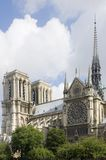 Notre Dame Detail Royalty Free Stock Photo