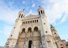 Notre-Dame di Lione Fotografia Stock