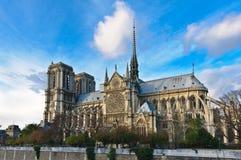 Notre Dame di Parigi Fotografie Stock