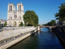 Notre Dame domkyrka Royaltyfria Bilder