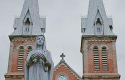 Notre Dame domkyrka arkivfoto