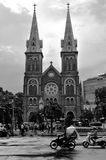 Notre Dame domkyrka, Ho Chi Minh City Royaltyfri Foto